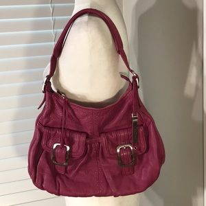 Cole Haan Soft Leather Pink Purse